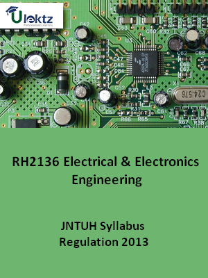 Electrical and Electronics Engineering - Syllabus