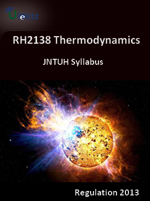 Thermodynamics - Syllabus