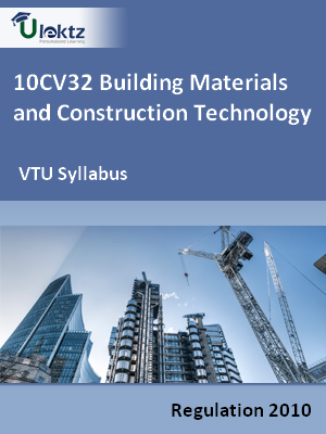 Building Materials and Construction Technology - Syllabus