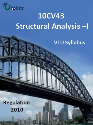 Structural Analysis –I - Syllabus