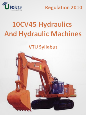 Hydraulics And Hydraulic Machines - Syllabus