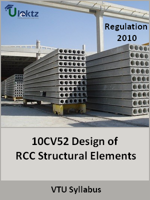 Design of RCC Structural Elements - Syllabus