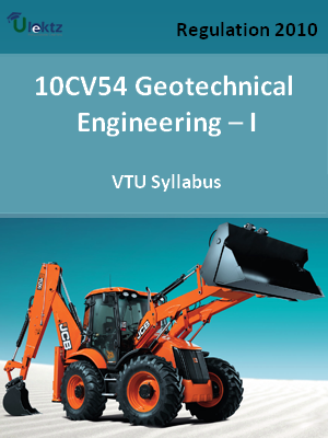 Geotechnical Engineering – I - Syllabus