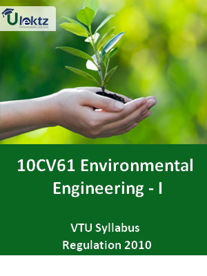 Environmental Engineering - I - Syllabus