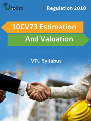 Estimation And Valuation - Syllabus