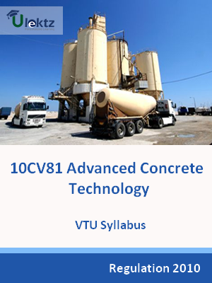 Advanced Concrete Technology - Syllabus