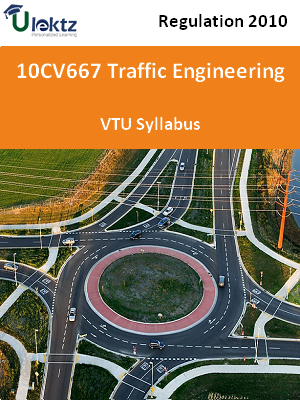 Traffic Engineering - Syllabus