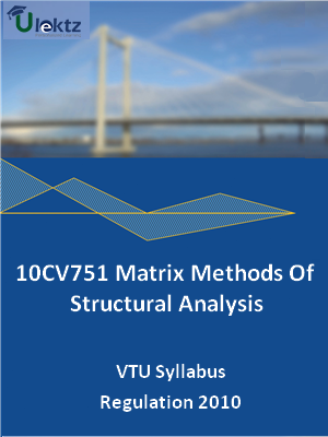 Matrix Methods Of Structural Analysis - Syllabus