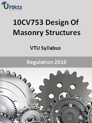 Design Of Masonry Structures - Syllabus