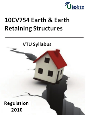 Earth & Earth Retaining Structures - Syllabus
