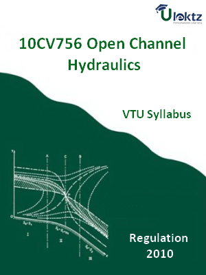 Open Channel Hydraulics - Syllabus