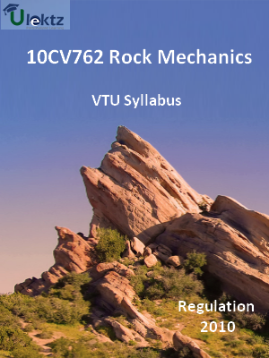 Rock Mechanics - Syllabus