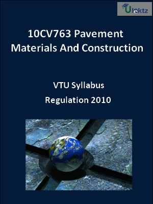 Pavement Materials And Construction - Syllabus