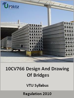 Design And Drawing Of Bridges - Syllabus