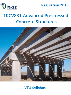 Advanced Prestressed Concrete Structures - Syllabus