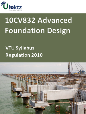 Advanced Foundation Design - Syllabus