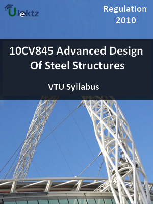 Advanced Design Of Steel Structures - Syllabus
