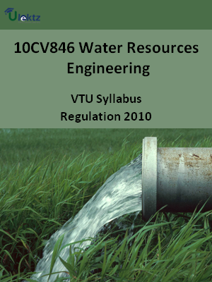 Water Resources Engineering - Syllabus