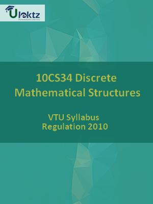 Discrete Mathematical Structures - Syllabus
