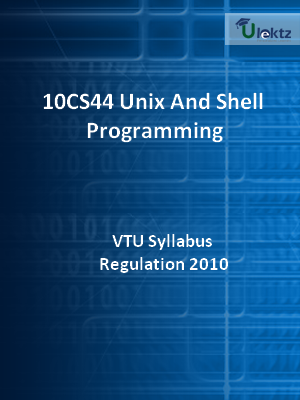 Unix And Shell Programming - Syllabus
