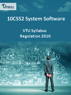 System Software - Syllabus