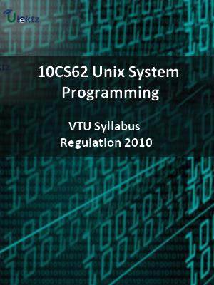 Unix System Programming - Syllabus