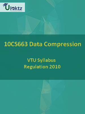 Data Compression - Syllabus