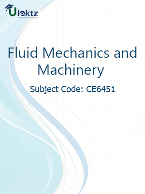 Important Question for  FLUID MECHANICS AND MACHINERY