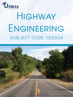 Important Question for HIGHWAY ENGINEERING