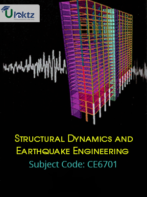 Important Question for STRUCTURAL DYNAMICS AND EARTHQUAKE ENGINEERING