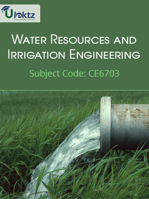 Important Question for Water Resources and Irrigation Engineering