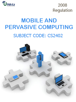 Important Question for Mobile and pervasive computing