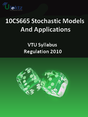 Stochastic Models And Applications - Syllabus