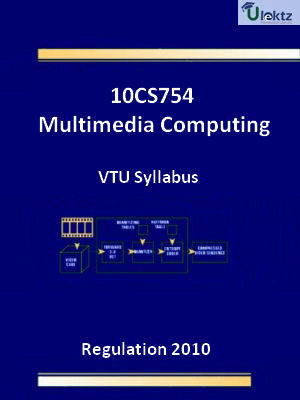 Multimedia Computing - Syllabus