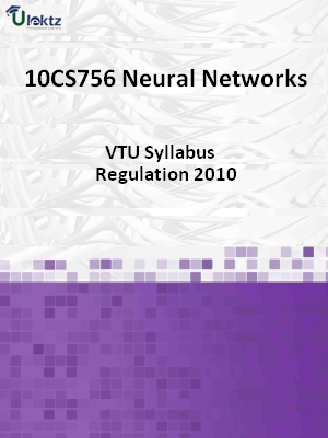Neural Networks - Syllabus