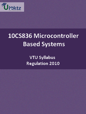 Microcontroller-Based Systems - Syllabus