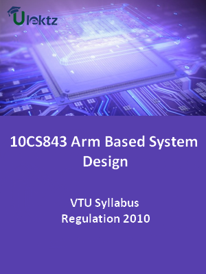 Arm Based System Design - Syllabus