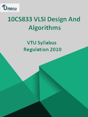 VLSI Design And Algorithms - Syllabus