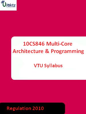 Multi-Core Architecture And Programming - Syllabus