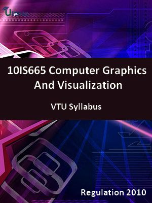 Computer Graphics And Visualization - Syllabus