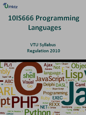 Programming Languages - Syllabus