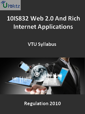 Web 2.0 And Rich Internet Applications - Syllabus