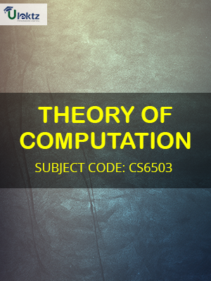 Important Question for THEORY OF COMPUTATION