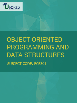 Important Question for Object Oriented Programming And Data Structures