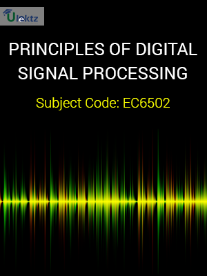 Important Question for Principles Of Digital Signal