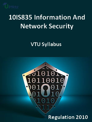 Information And Network Security - Syllabus