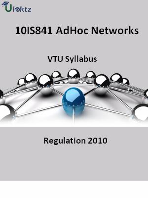 AdHoc Networks - Syllabus