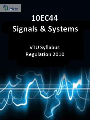 Signals & Systems - Syllabus
