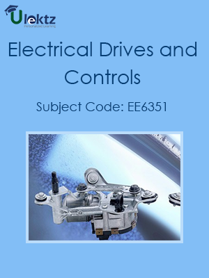 Important Question for ELECTRICAL DRIVES AND CONTROL