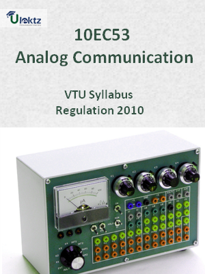 Analog Communication - Syllabus